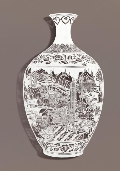 """Bovey Lee, """"Vase I"""", 2012"""