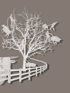 Bovey Lee, Dragging Cows Up A Tree, 2011